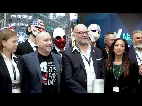 Nasdaq Stockholm welcomes Starbreeze to the Main Market!