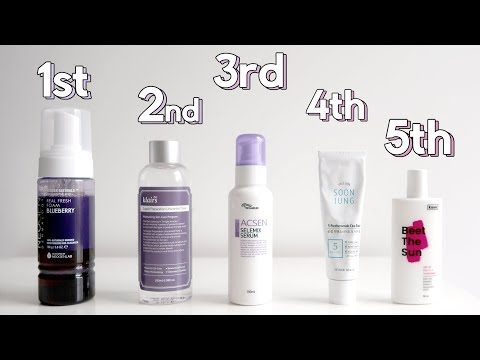 How To Layer Skincare - What Order, Waiting Times, Morning Or Night?! ✖ James Welsh