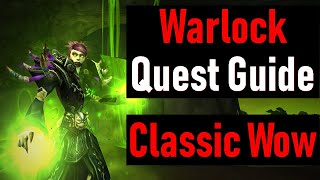 Warlock ALL Starter Quests (Imp Demon) in WoW Classic | Patch 1.12.1