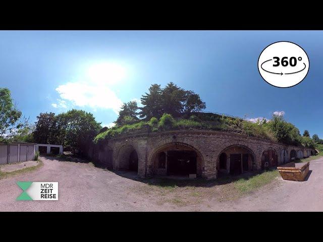 Die Festungsanlage Magdeburg | 360 VR Video | MDR ZEITREISE