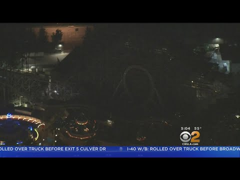 Power Outage Hits Disneyland