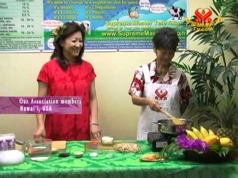 Hawaiian Vegan Chicken Crystal Long Rice