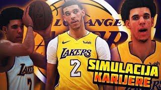 LONZO BALL SIMULIRAMO NJEGOVU CELU KARIJERU U NBA 2K18! GOAT ILI NAJVECI PROMASAJ?!