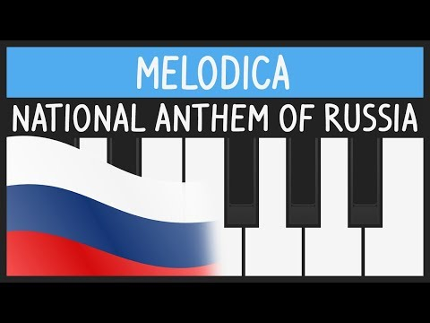 National Anthem of Russia - Melodica Tutorial
