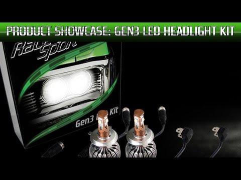 Race Sport Lighting Product Showcase: Generation 3 LED Headlight Kit