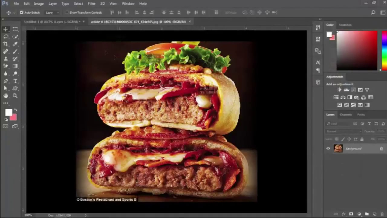 How To Food Banner Design In Photoshop Cc 2017 Banner Design