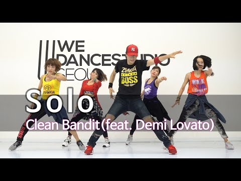 Solo - Clean Bandit feat. Demi Lovato / Easy Dance Fitness Choreography / ZIN™ / Wook's Zumba® Story thumbnail