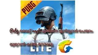 Gambar cover How to download and install PUBG lite xapk