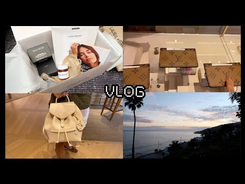 SHOP WITH ME @ LOUIS VUITTON, MALIBU ERRANDS, & SPENDING THE DAY ALONE! | VLOG