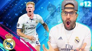 OMG KEVIN DE BRUYNE TO MADRID!! FIFA 19 Real Madrid Career Mode #12