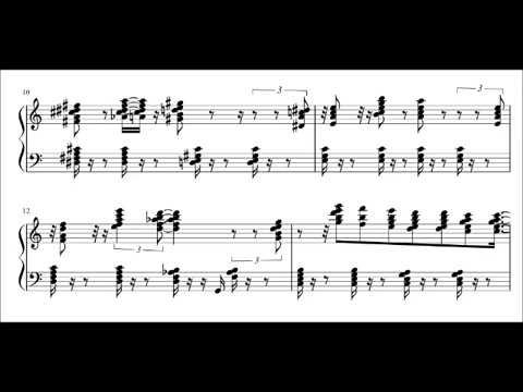 Lullaby of Birdland ( Erroll Garner + sheet music note for note )