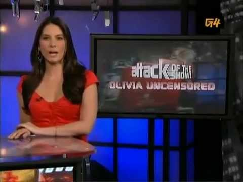 G4 Attack of the Show! - Best of Olivia Munn - 2008