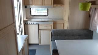 Caravan te koop: CARAVELAIR BAMBA DE LUXE 416 - 5 SLAAPPLAATSEN