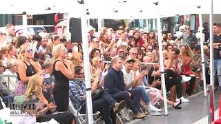 Download Adam Lambert at Simon Cowell's  Walk of Fame Ceremony, August 22 Mp3 and Videos