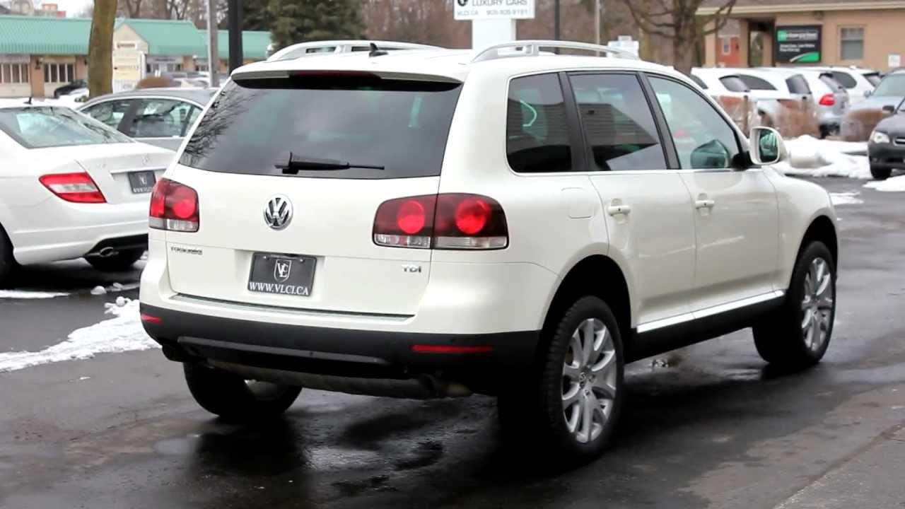 volkswagen touareg tdi  review village luxury cars toronto youtube
