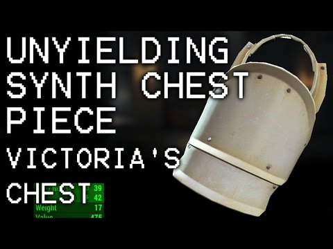 Fallout 4 Far Harbor - Unyielding Synth Chest Piece Location - The Price of Memory
