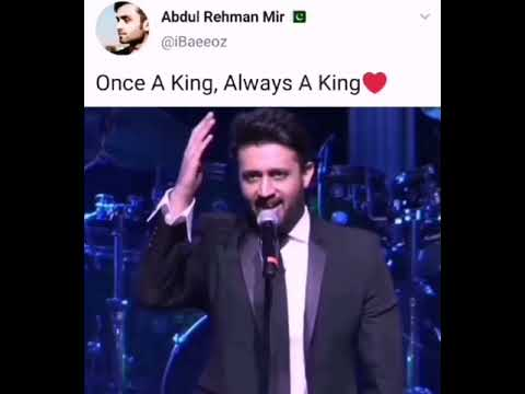 Download Once a King, Always a King🤩 | Atif Aslam Performance🤯