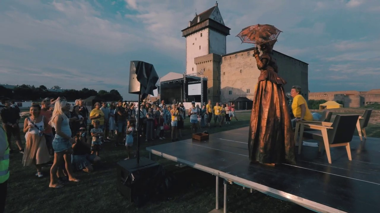 Living Statues at Baltic Sun 2018