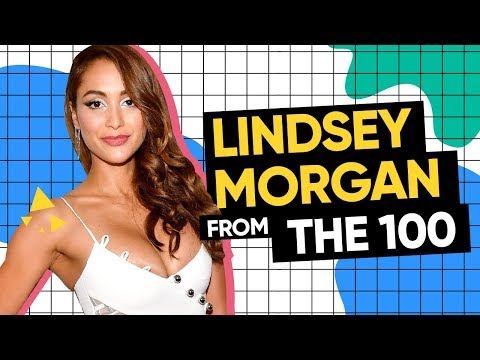 Lindsey Morgan from The 100  General Hospital and Insane Soap Opera acting Schedules