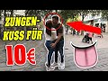 ZUNG*NKUSS für GELD! 👅💦 | SOZIALES EXPERIMENT | ZUNG*NKUSS für GELD! 👅💦 | SOZIALES EXPERIMENT  KOSTENLOS ABONNIEREN ► https://www.youtube.com/c/ItsLiontv?sub_confirmation=1  ZAKAS KANAL: https://www.youtube.com/channel/UCb7-zA00ZJsU7grxJGcB8Lw  ►INSTAGRAM: Lion_New ►SNAPCHAT: Lion_New  ✘ Folgt mir auf:  ►Instagram: https://goo.gl/t294qk Lion_New ►Facebook: https://goo.gl/N5heg9 ►Snapchat: Lion_New ▬▬▬▬▬▬▬▬▬▬▬▬▬▬▬▬▬▬▬▬▬ Equipment: ► Kamera: Canon 77D http://amzn.to/2fyei9l ► Mikrofon: Canon WM-V1 http://amzn.to/2zcc3Vb ► Schnittprogramm: Final Cut Pro