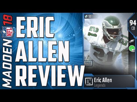 How Good is 94 Overall Eric Allen? MUT 18 Card Review
