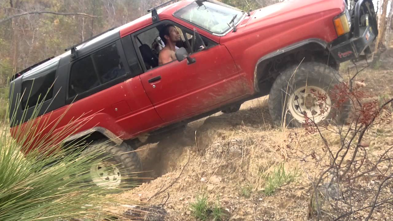 best old 4x4  Offroad 4WD fun North QLD Australia - old Toyota 4Runner 4x4 is ...