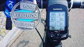 Velothon Berlin 2016 mit Daten 66Km  Rennen