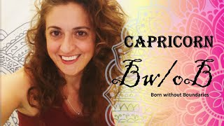 ♑ Capricorn: Rescued by the unconventional ♑ #capricorn #tarot #BornWithoutBoundaries