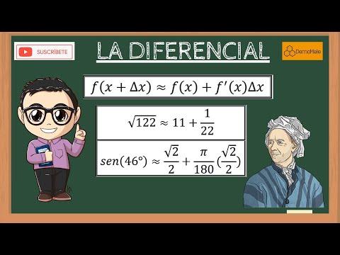 Aproximaciones mediante la Diferencial (CÁLCULO)