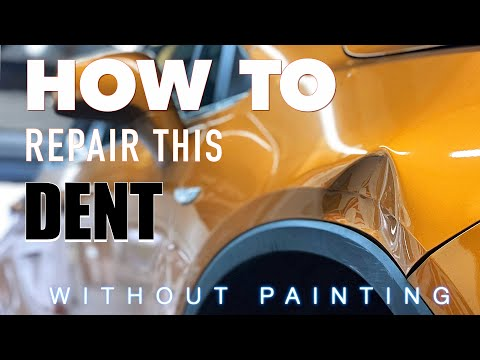 PAINTLESS DENT REMOVAL UK | Extreme Damage Repaired Without Painting | By Dent-Remover