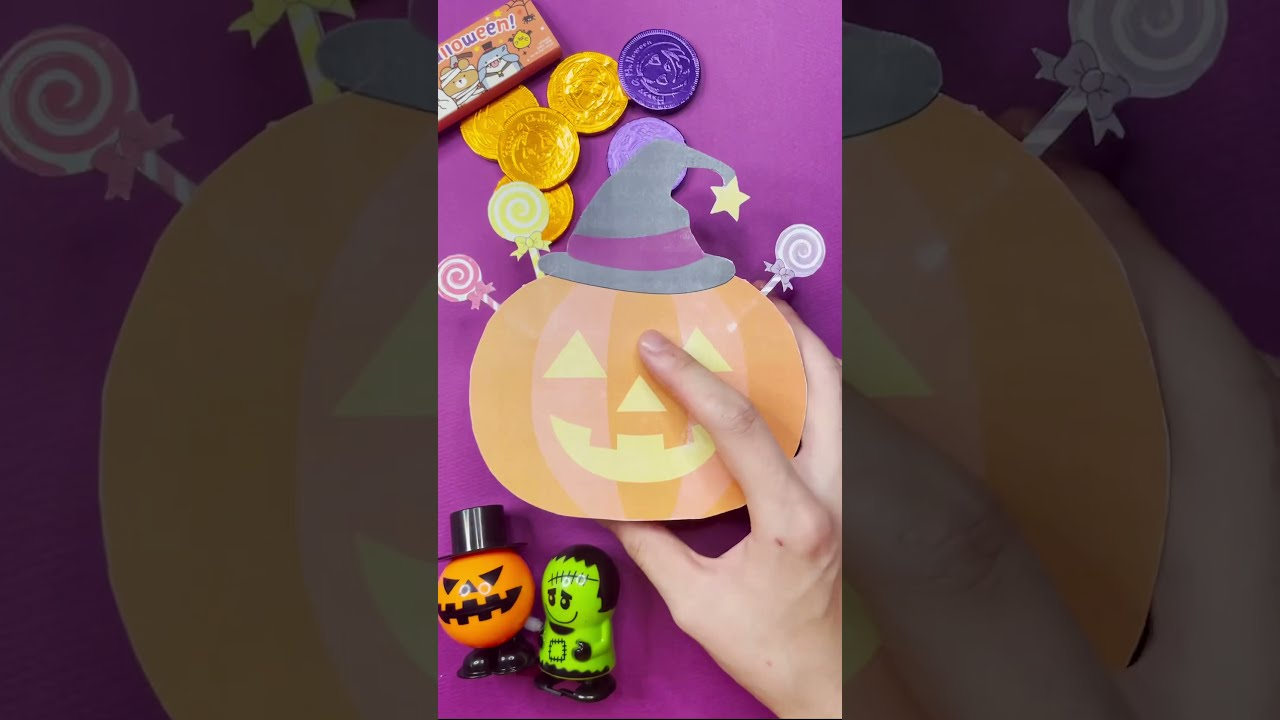 미스테리 할로윈 박스 (물건이 계속 나옴😱)/ Mystery halloween box