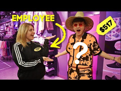 Letting STORE Employees DECIDE what outfit i BUY (SHOPPING CHALLENGE)