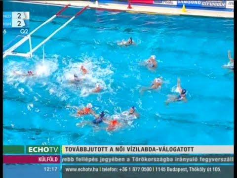 Újabb magyar diadal a vizes vb-n - Echo Tv