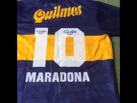 detailed look 60711 11de0 Classic Football Shirts - Boca Juniors Maradona Football shirt 1996