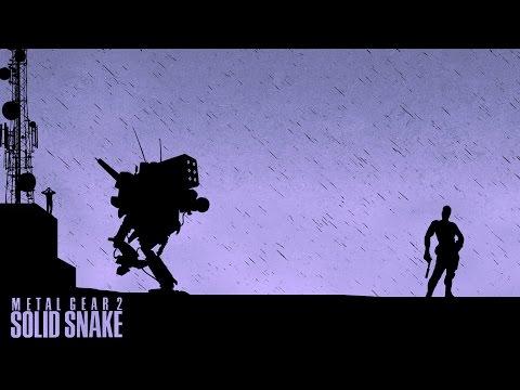 Metal Gear 2: Solid Snake - Игрофильм на русском