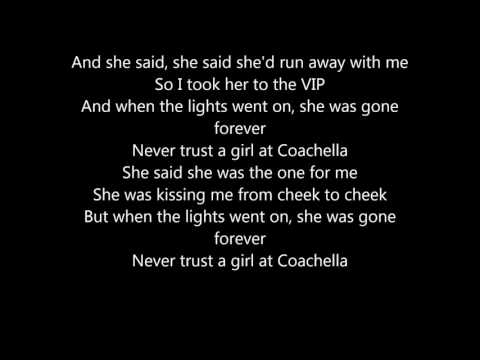 Matoma & MAGIC! - Girl At Coachella (ft. D.R.A.M.) (lyrics)