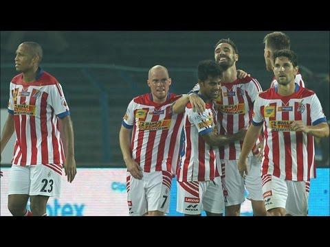ISL 2015   Atletico De Kolkata 4-0 Win Over FC Goa