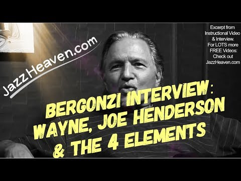 *Jerry Bergonzi* on Wayne Shorter Joe Henderson & the 4 Elements - JazzHeaven.com Jazz Saxophone
