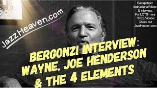 *Jerry Bergonzi* on Wayne Shorter Joe Henderson & the 4 Elements - JazzHeaven.com Jazz Saxophone