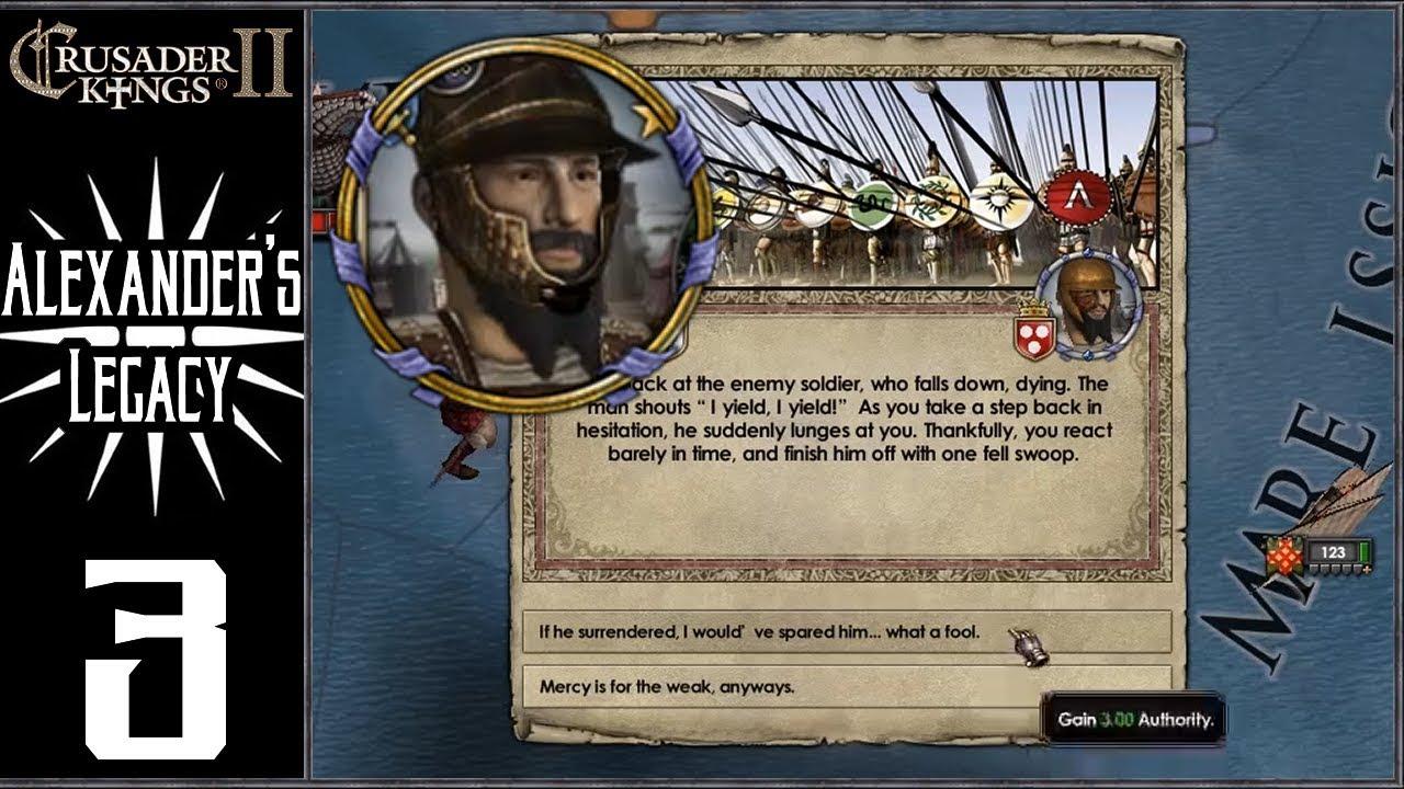 CK2: Lux Invicta - Alexander's Legacy #3 - Conquests Begin