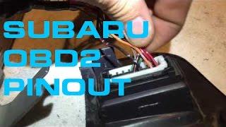 Subaru OBD2 Pinout