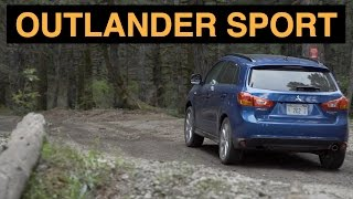 2015 Mitsubishi Outlander Sport - Off Road And Track Review