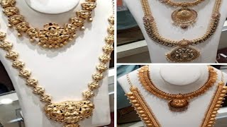 Lalitha Gold Jewellery shop/New Collections 2019/Bridal  Collection with Grams&price.
