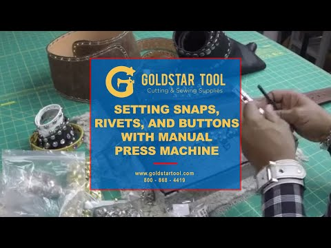 GOLDSTARTOOL.COM Super Heavy Duty Press Machine (includes 1 die set)