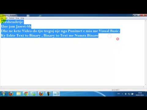 Text To Binary , Binary To Text Created By Jaseri-Sh