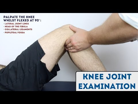 Knee Joint Examination - OSCE Guide (new)