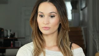 Metallic Nude Glow Makeup Tutorial / ttsandra thumbnail