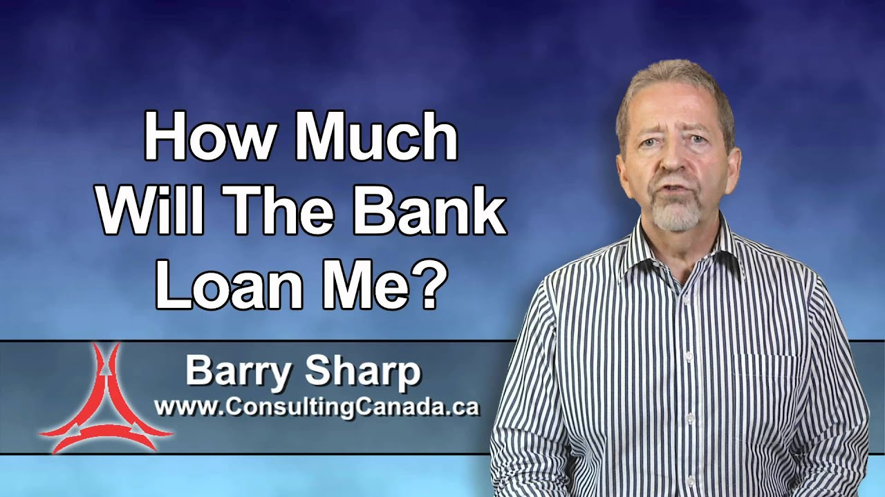 How much will the bank loan me? - YouTube