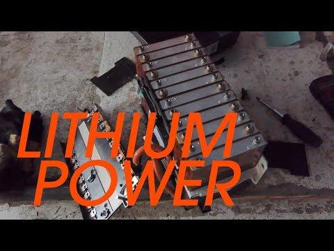 Lithium Sailboat Batteries - Sink or Swim 36