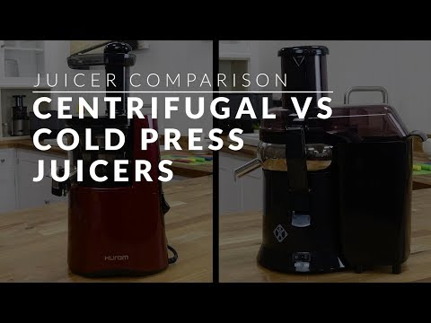 Centrifugal vs Cold Press Juicers